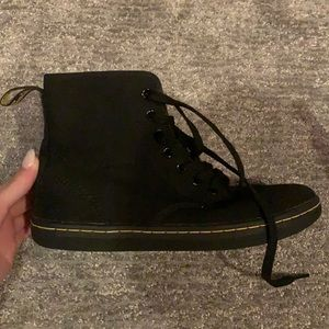 Dr Martens Canvas Sheridan boots GREAT CONDITION